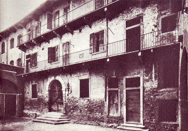 Дом Джульетты - старое фото