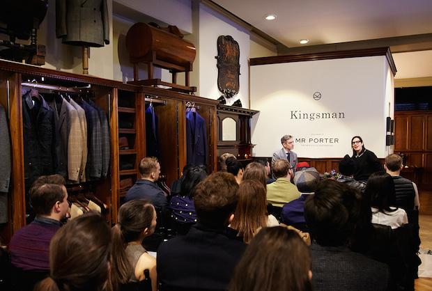 Kingsman brand presentation