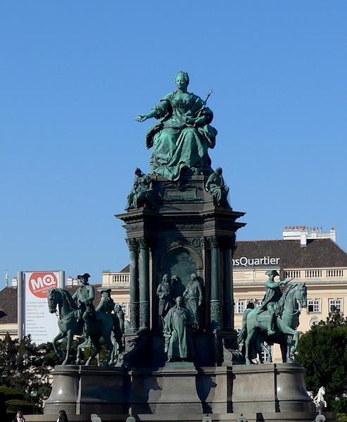 монумент - Мария-Тереза