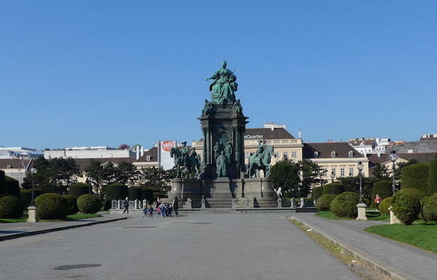 венская площадь Марии-Терезии