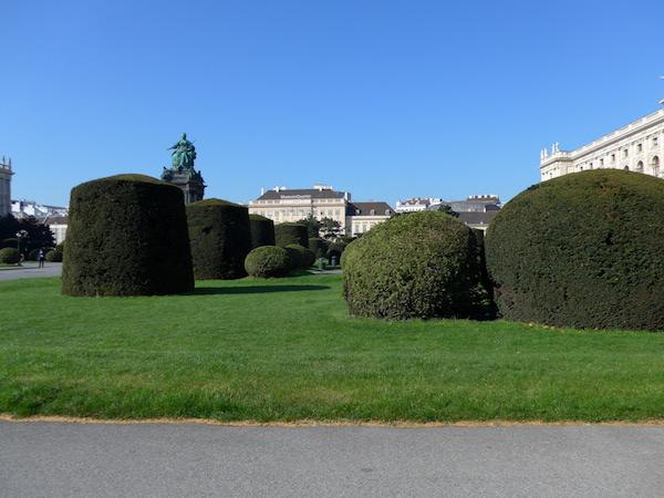 Площадь в Вене