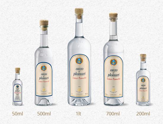 пять бутылок узо