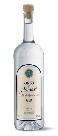 Узо Plomari - литровая бутылка