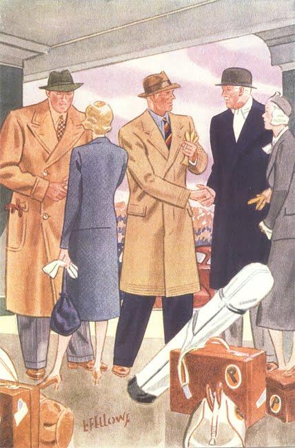 пальто на иллюстрации Apparel Arts