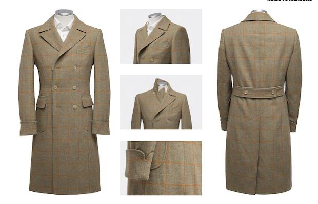 Ulster coat by Room Ten