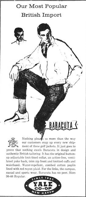 Baracuta old ad USA