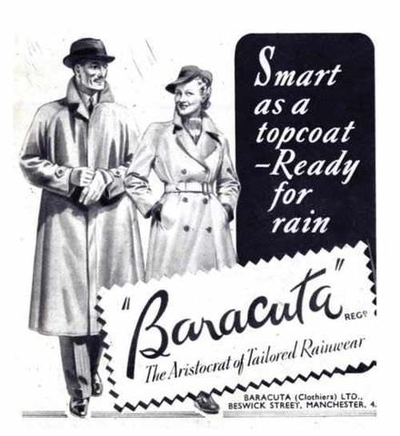 реклама курток Baracuta