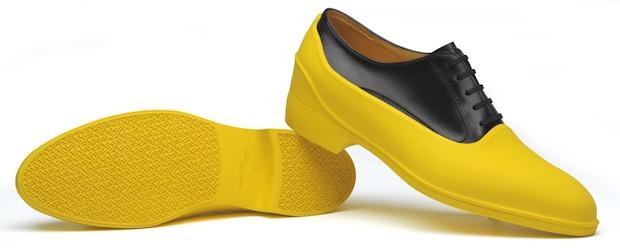 желтые галоши