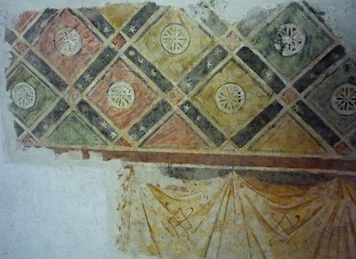 фрески в веронском замке