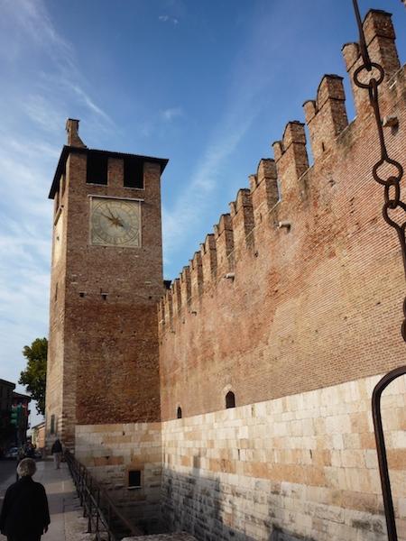 замок в Вероне