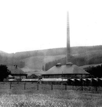 Мейзенбург - фабрика в 1918 году