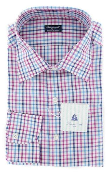 клетчатая рубашка из Италии