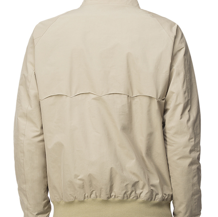 куртка Baracuta - вид сзади