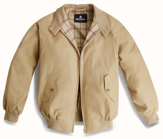 Grenfell - куртка-хэррингтон