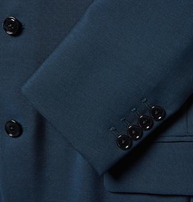 пиджак из шерсти с мохером