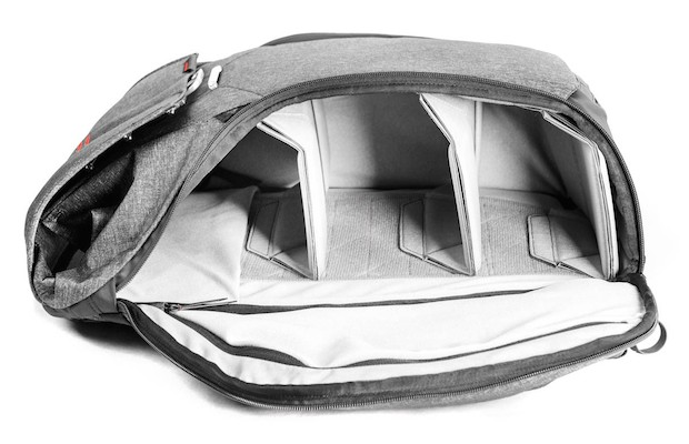 внутренности рюкзака для фотографов