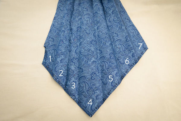 галстук 7 сложений - photo by Esquire