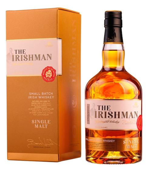 ирландский виски бренд The Irishman