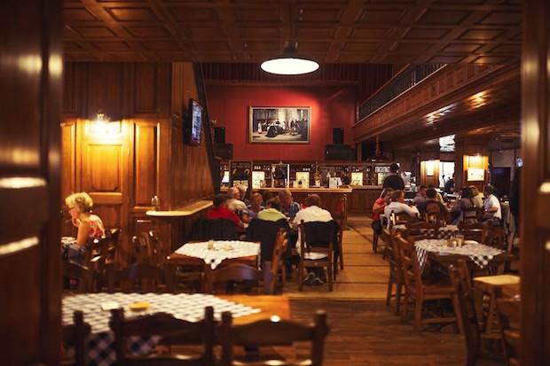 ресторан в центре Братиславы