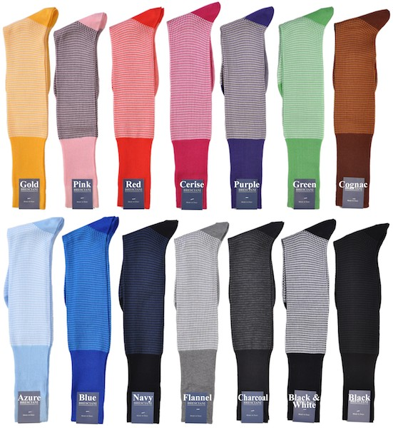 Bresciani socks range