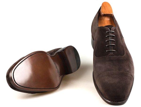 замшевые туфли из Португалии