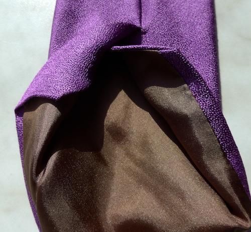 французский галстук - подкладка