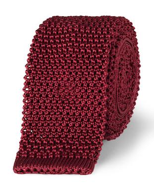 вязаный галстук Шарве
