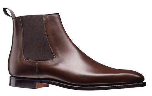 Crockett and Jones ботинки челси