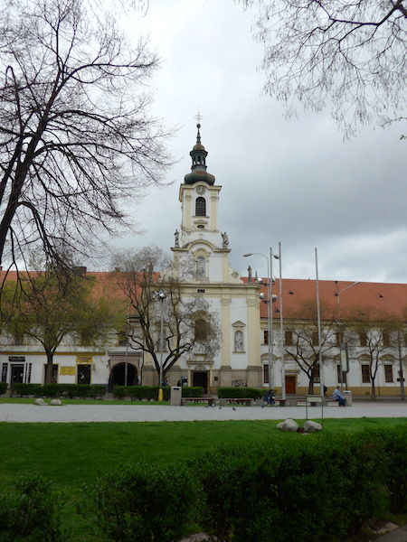 церковь на площади SNP