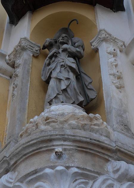Скульптура Братислава