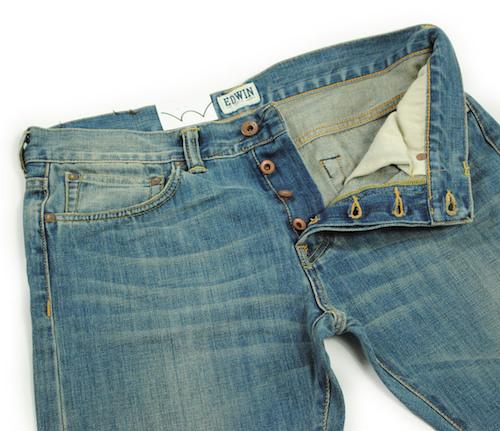 японские джинсы марки Edwin
