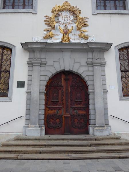 братиславская церковь иезуитов