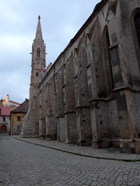 бывший монастырь кларисок в Братиславе