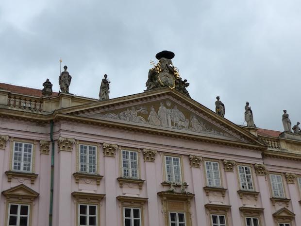 фасад дворца примаса