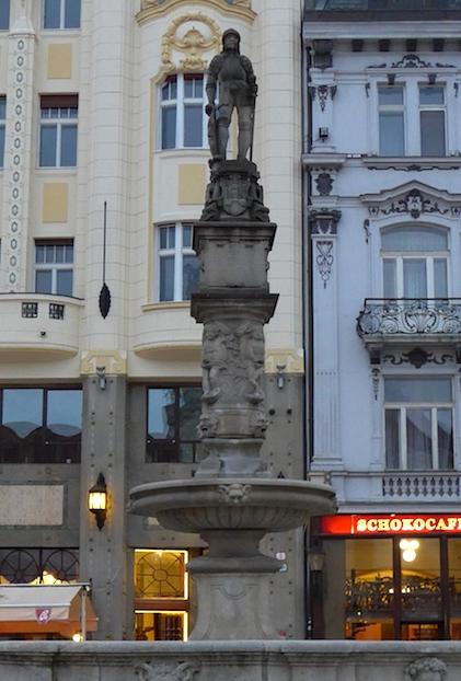фонтан Максимилиан Братислава
