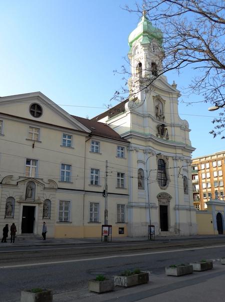 церковь Елизаветы в Братиславе