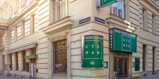 Ресторан Steman в Вене