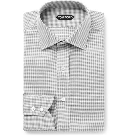 Tom Ford серая сорочка