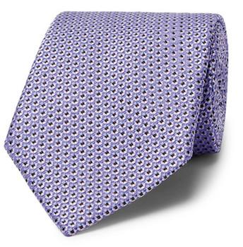 светлый галстук