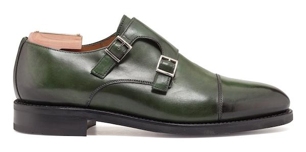 зеленые туфли Berwick
