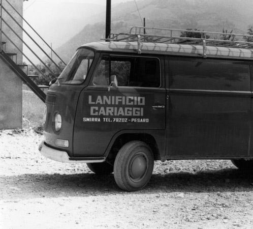 старый фургон Cariaggi