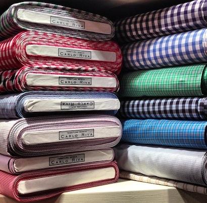 Riva рубашечные ткани