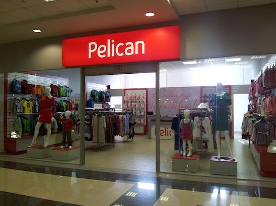 один из монобрендовых магазинов Pelican