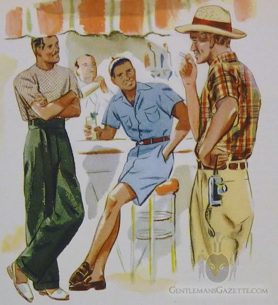 летняя одежда 1930-е годы