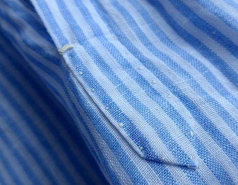 Ручные операции на рубашке G Inglese