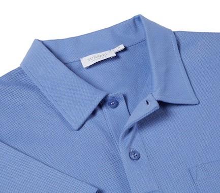 фрагмент рубашки-поло