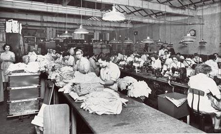 Английская фабрика 1930-х годов