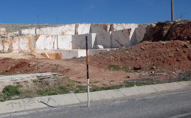 добыча мрамора в Турции