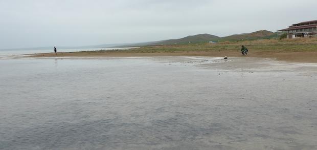 соленое озеро в Турции
