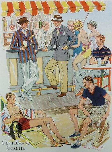 американский fashion журнал 1934